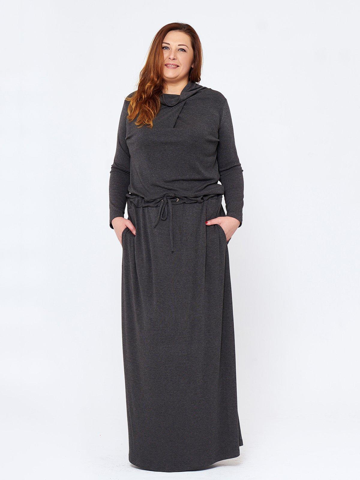 Сукня темно-сіра | 2714657