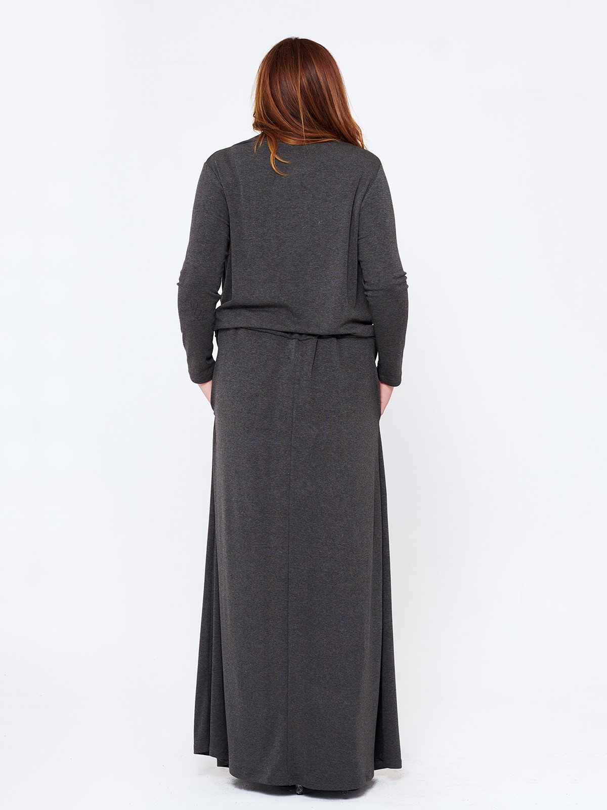 Сукня темно-сіра | 2714657 | фото 2