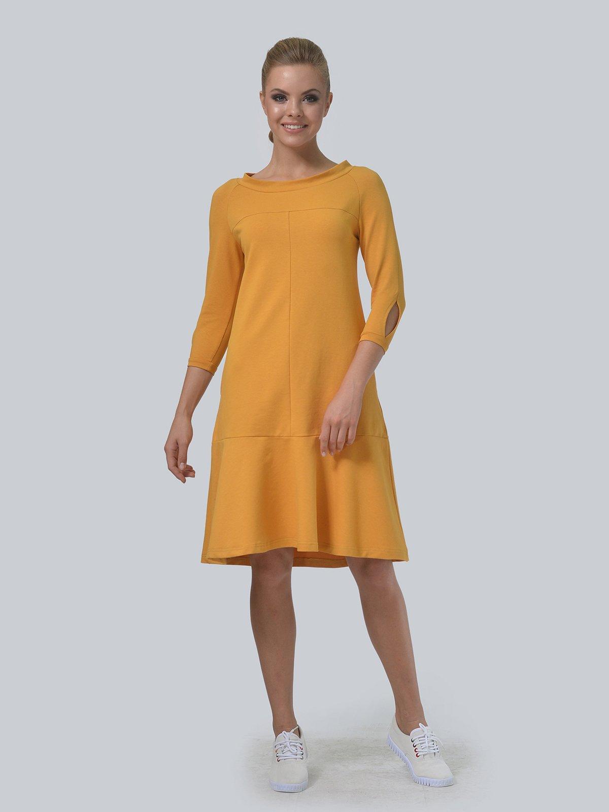 Сукня гірчичного кольору | 3540252
