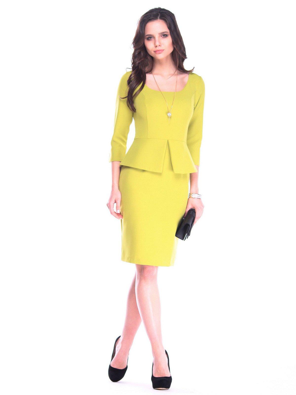 Платье цвета авокадо | 3172684
