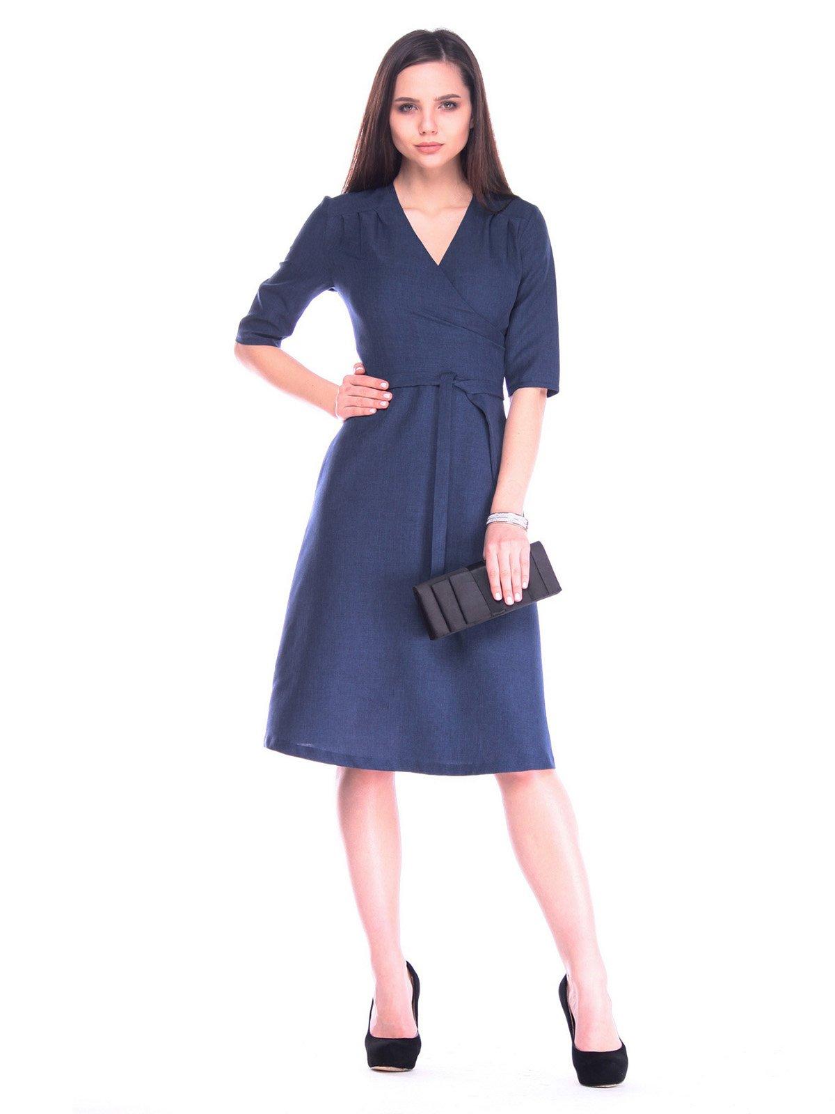 Сукня темно-синя | 3172689