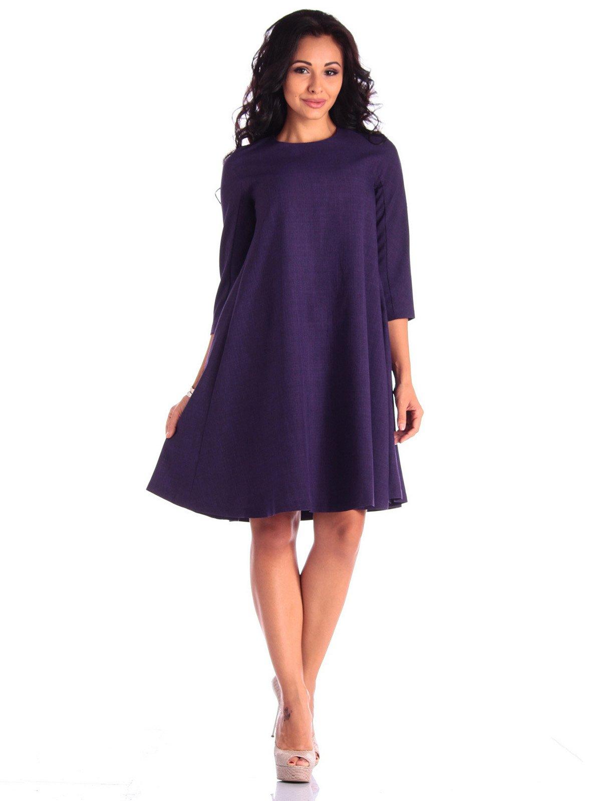 Платье темно-фиолетовое   3550049