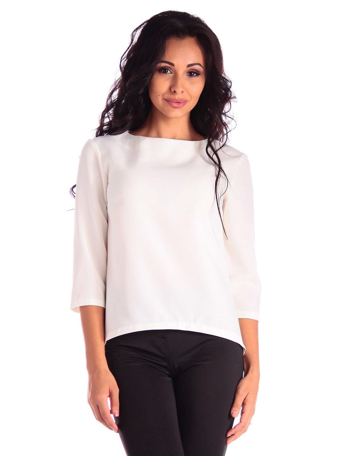 Блуза молочного цвета | 3550054