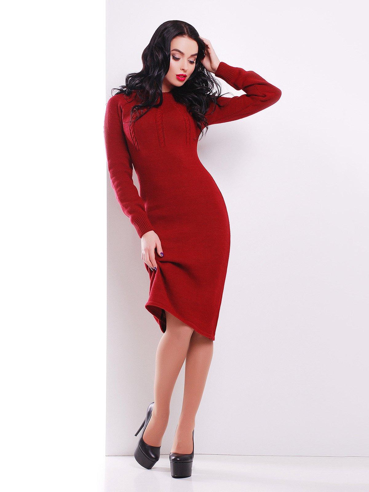 Сукня бордова | 3552280