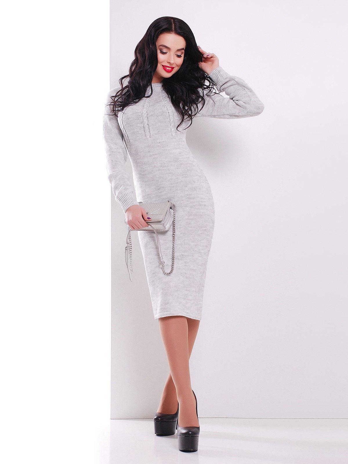 Платье светло-серое | 3552282