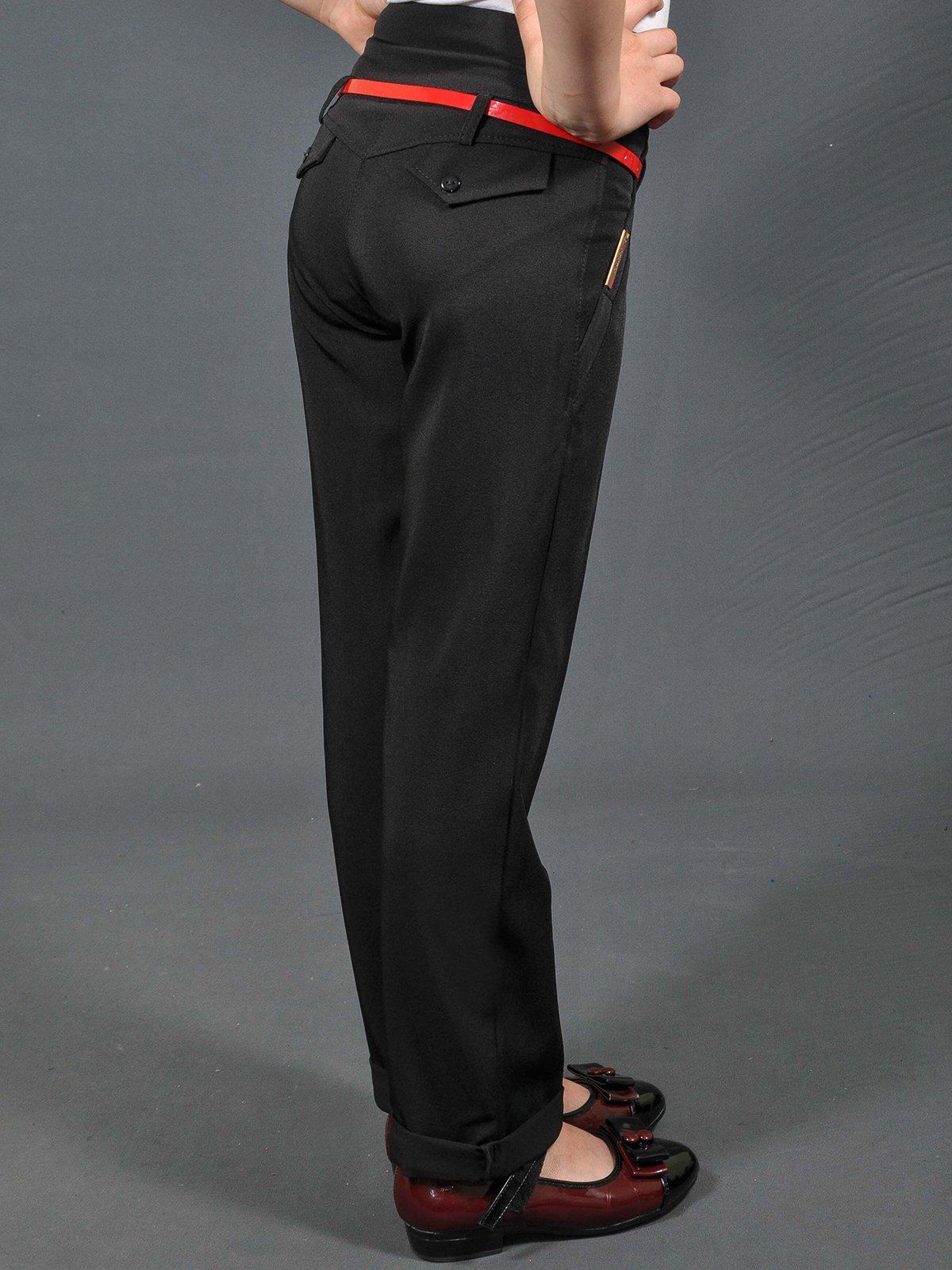 Штани чорні | 3529096 | фото 2