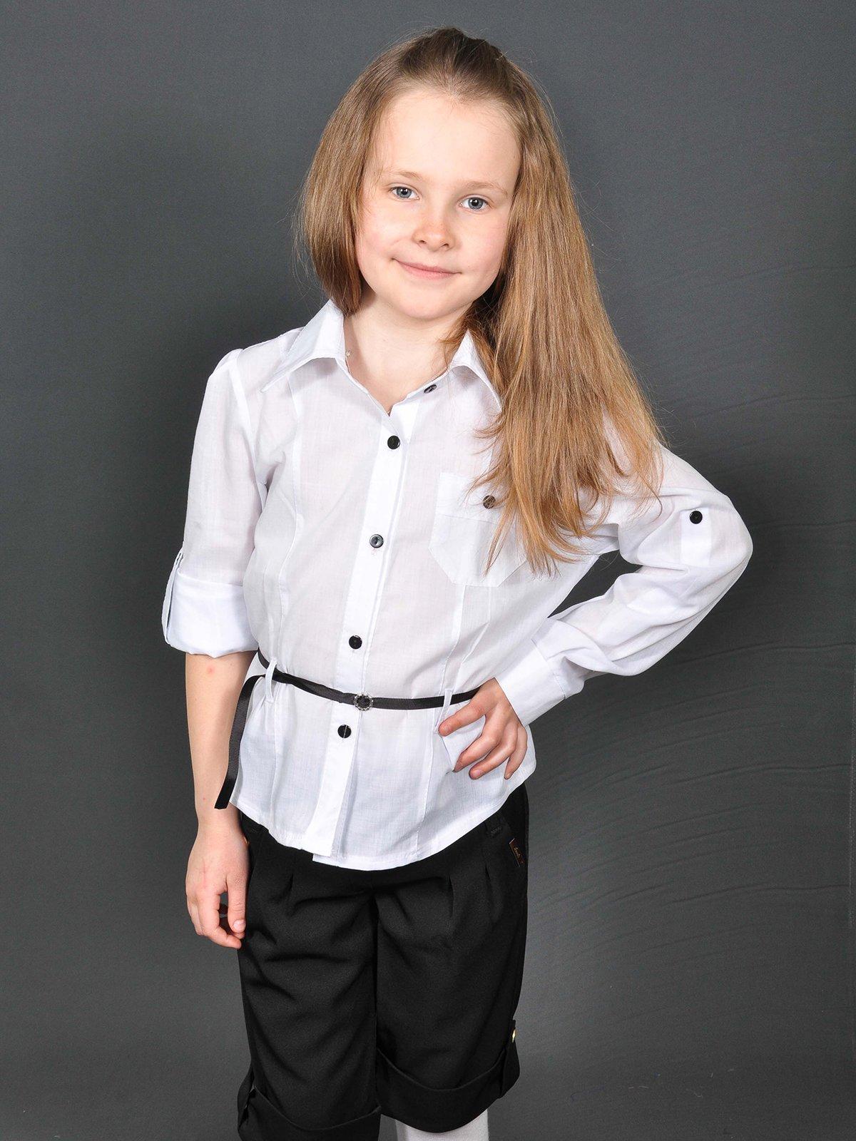 Сорочка біла | 3529099 | фото 3