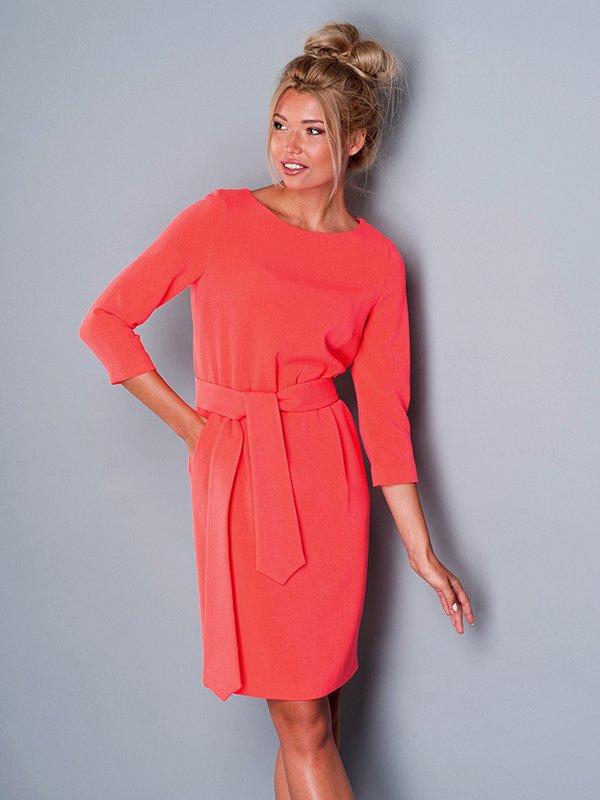 Платье коралловое | 2937167