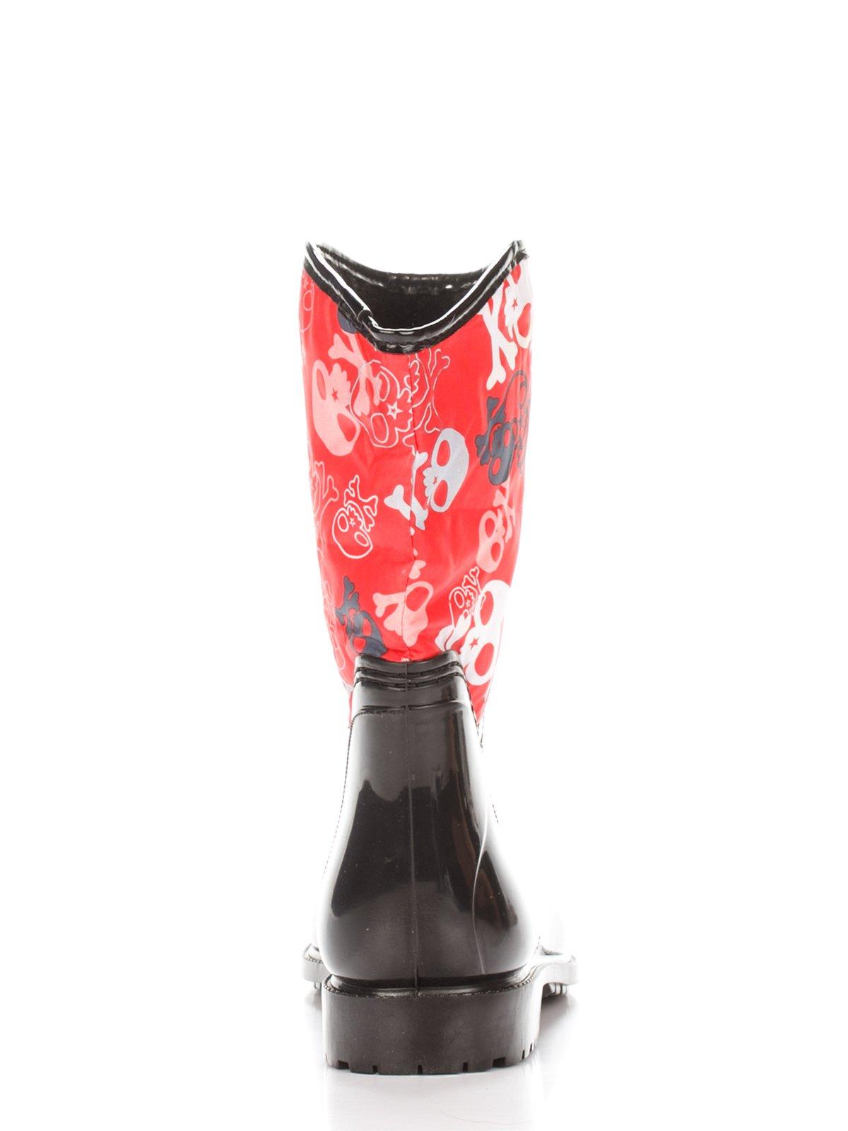 Сапоги черно-красные | 2096725 | фото 3