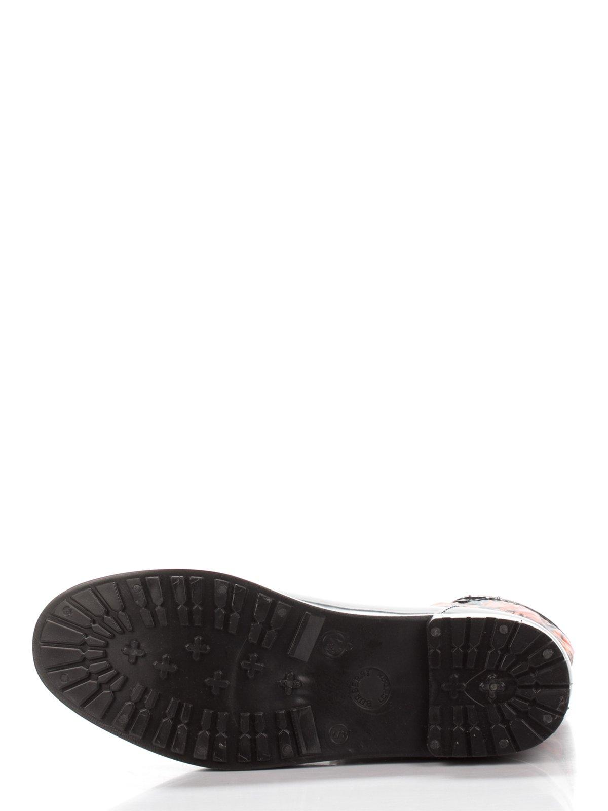 Сапоги черные с принтом | 3555751 | фото 4