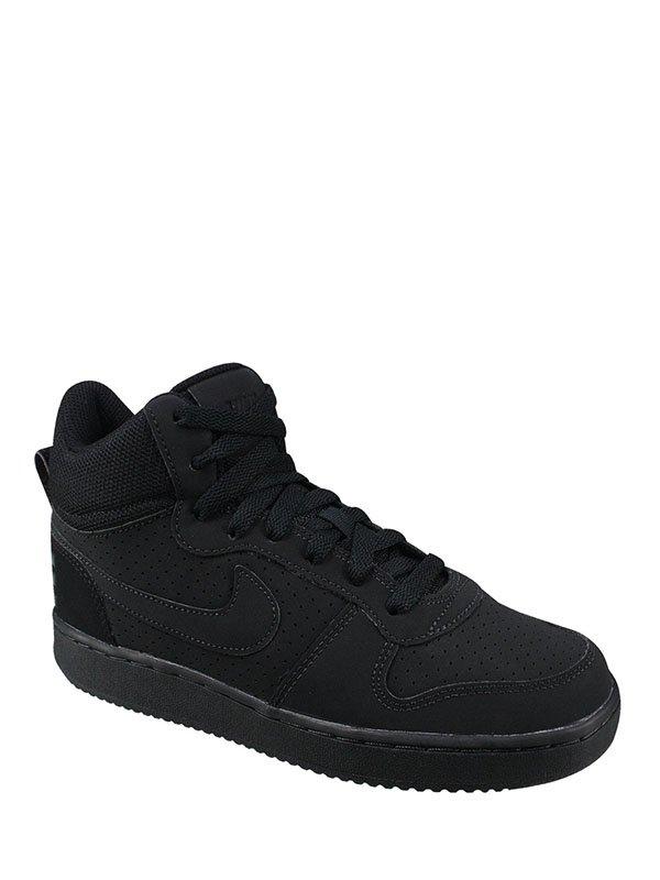 086eff94 Кроссовки черные Court Borough Mid — Nike, акция действует до 10 ...
