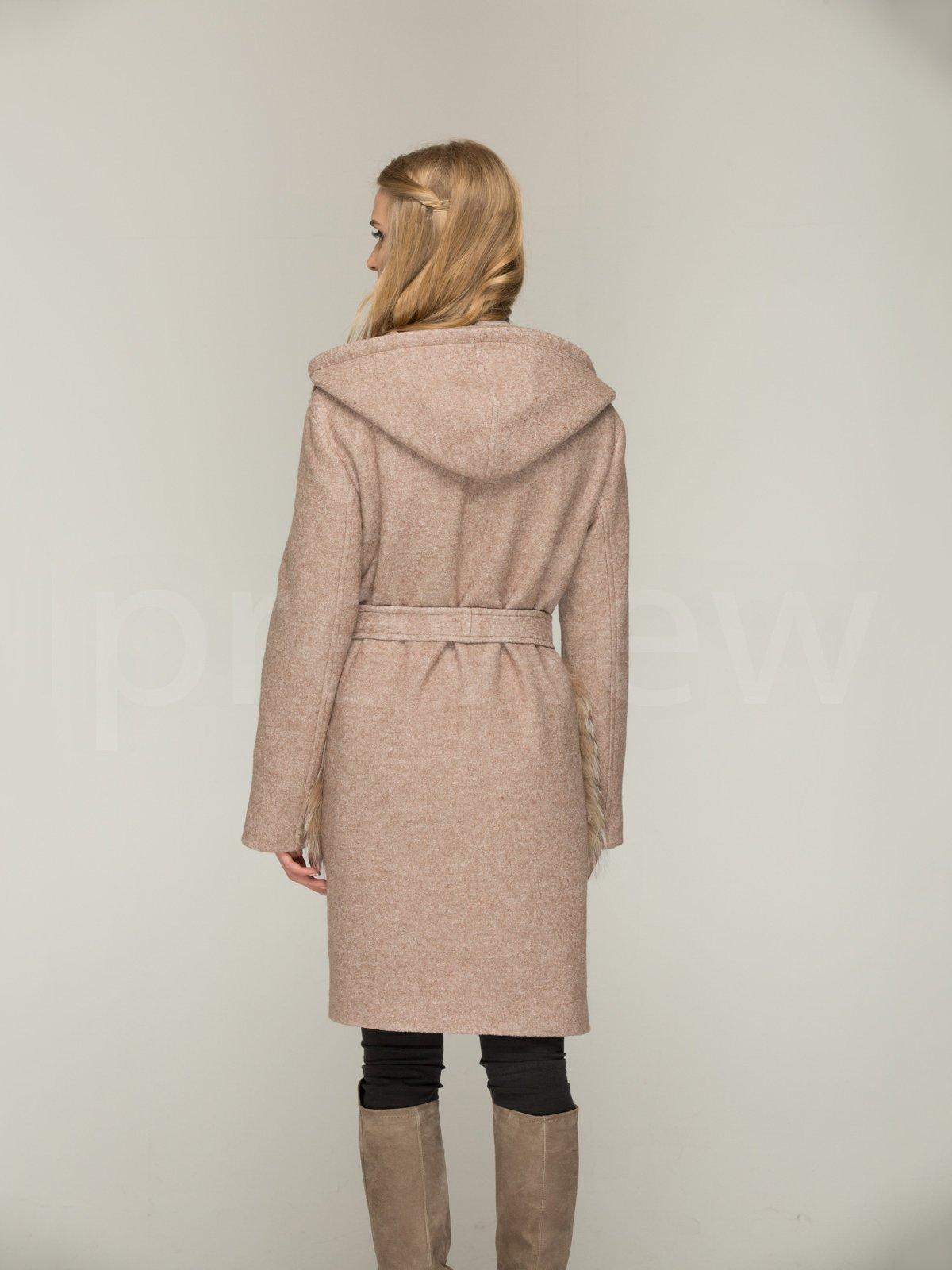 Пальто кольору капучино | 3566472 | фото 3