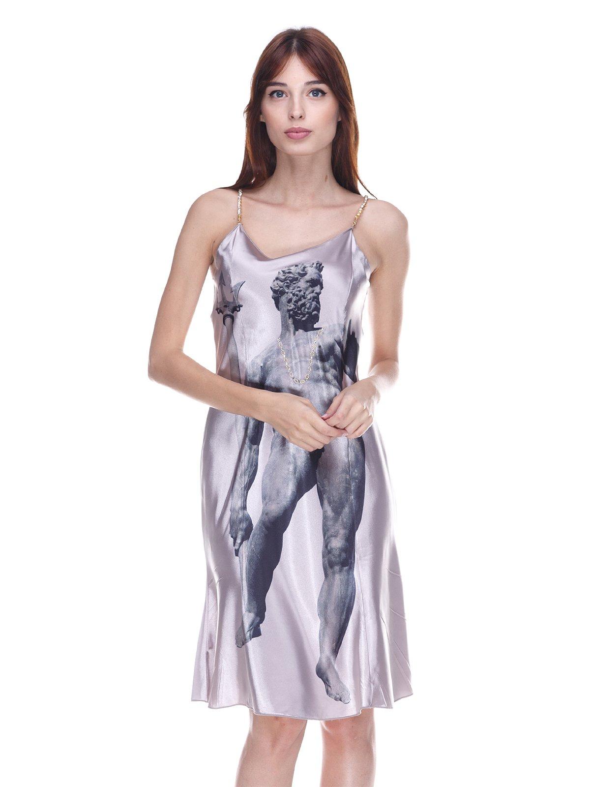 Сукня світло-сіра | 3568833