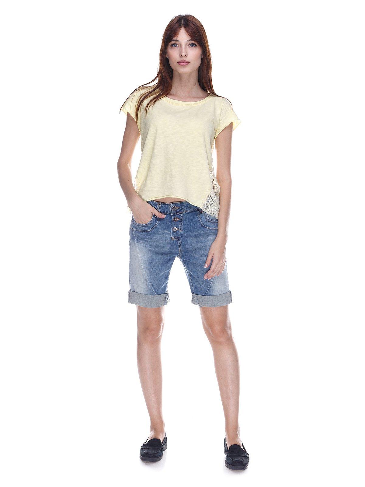 Шорты синие джинсовые | 3568864