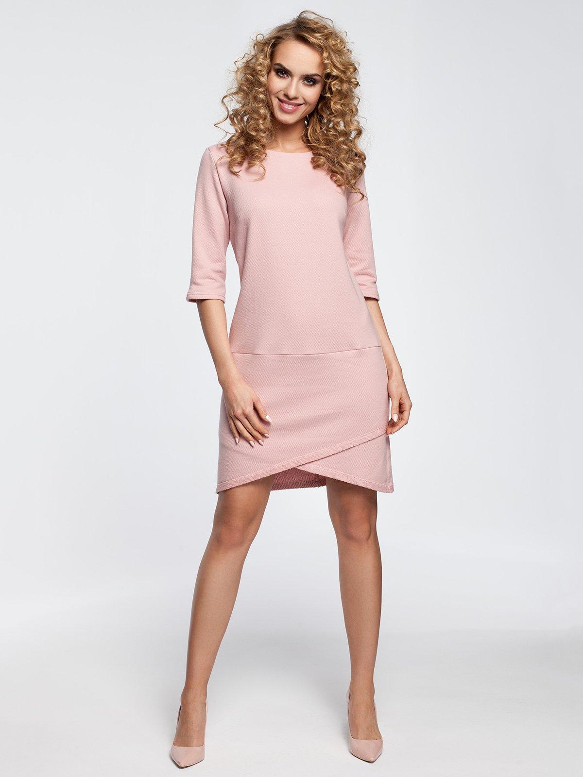 Сукня кольору пудри | 3562300