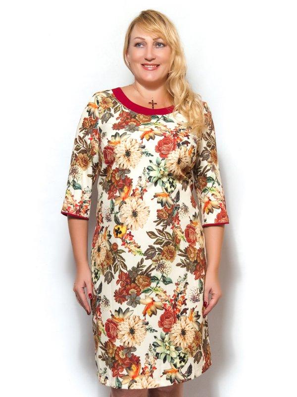 Сукня в квітковий принт | 3572386