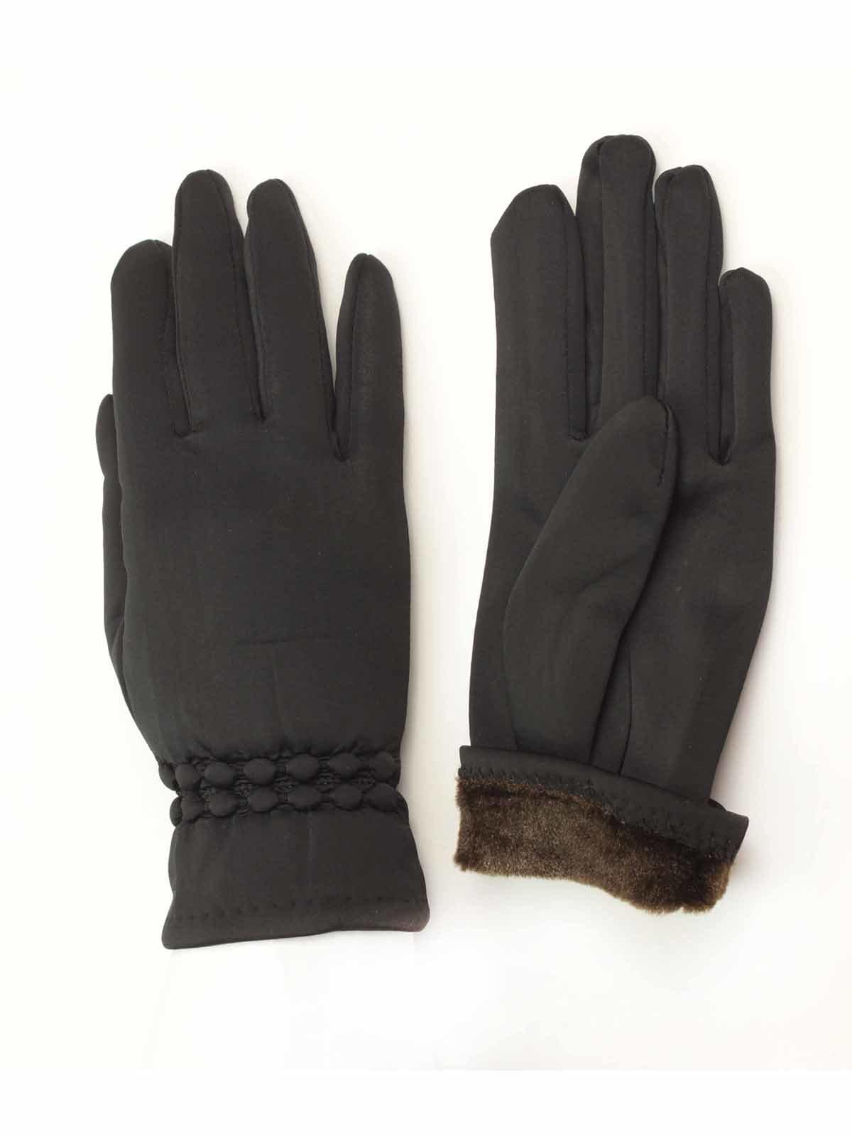 Рукавички чорні | 3572575