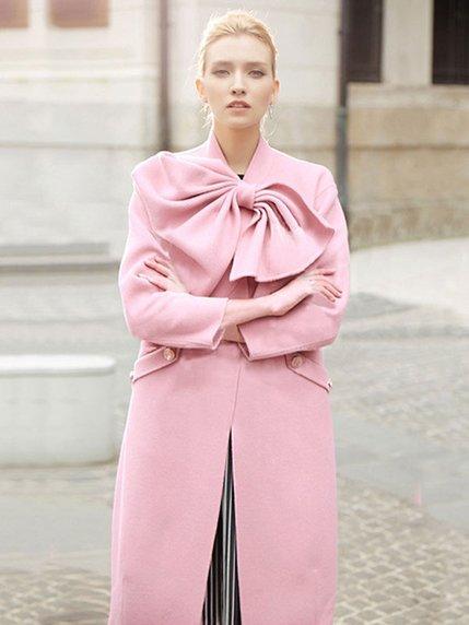 Пальто розовое   3574220   фото 2