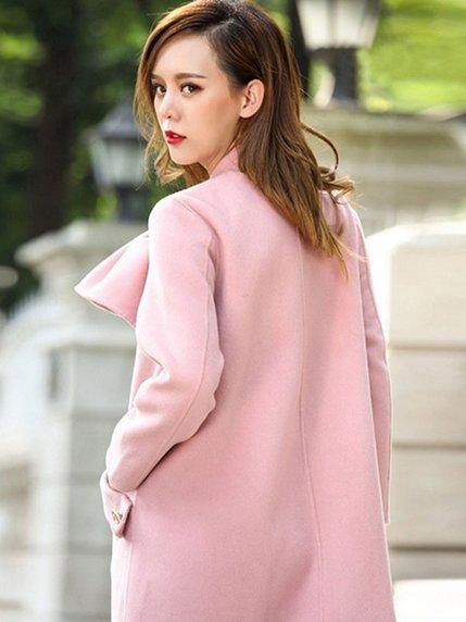 Пальто розовое   3574220   фото 3