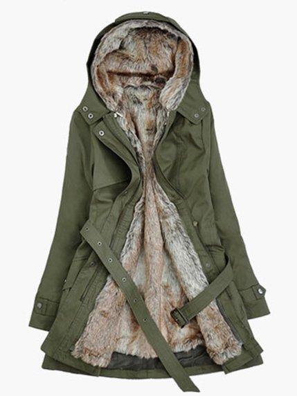 Пальто зеленое | 3574485