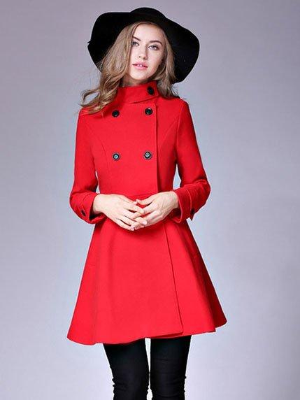 Пальто красное | 3574799 | фото 3