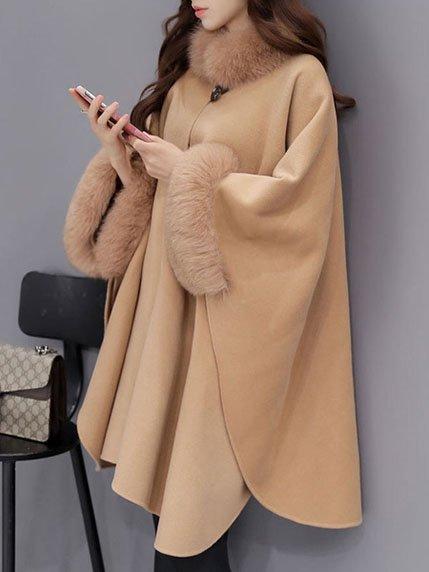 Пальто цвета кэмел | 3575789 | фото 3