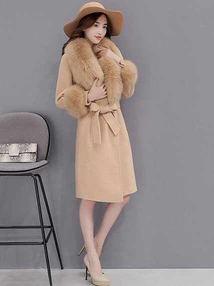 Пальто цвета кэмел   3575792   фото 2