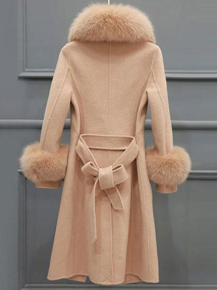 Пальто цвета кэмел   3575792   фото 4