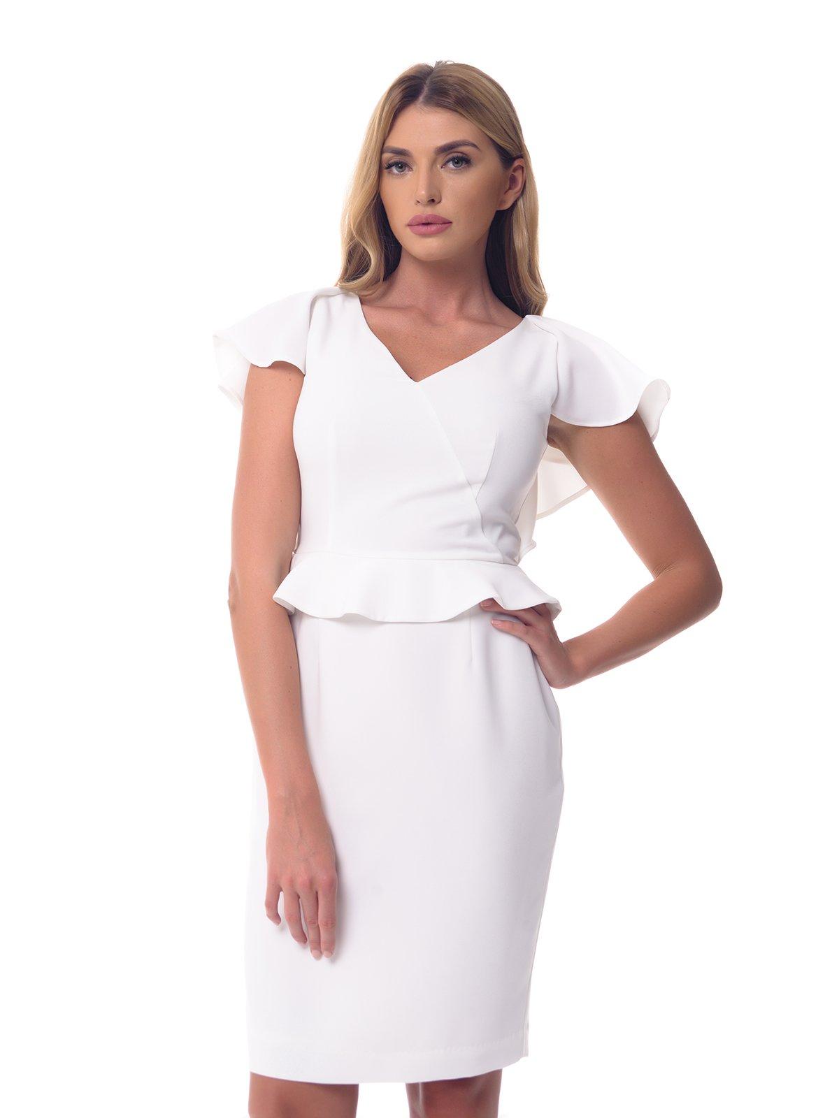 Платье молочного цвета | 3573649