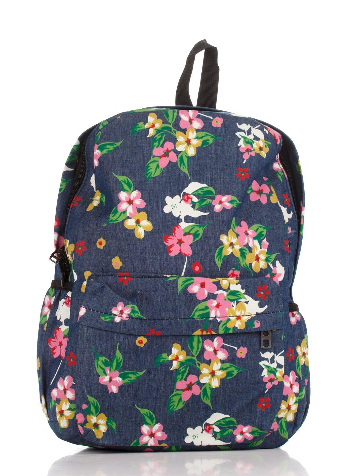 e151cfb6009e Рюкзак с цветочным принтом — Postar, акция действует до 26 июля 2018 ...