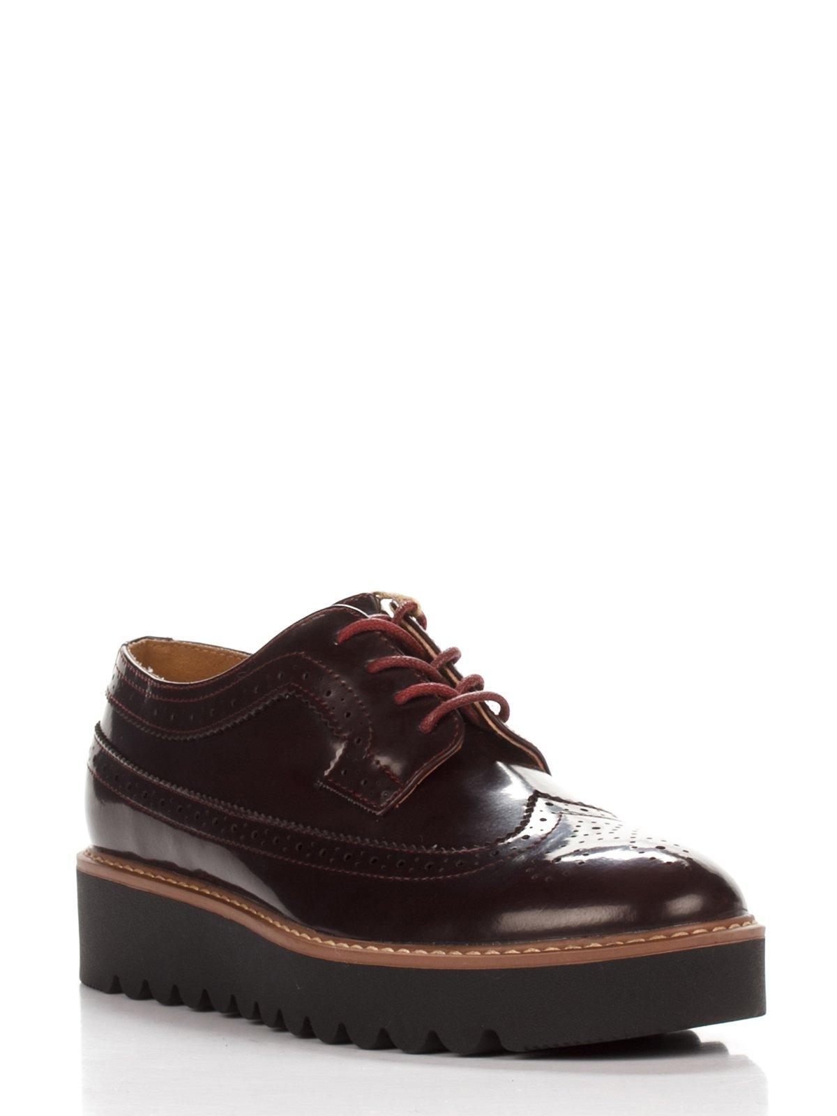 Туфлі бордові | 3578813