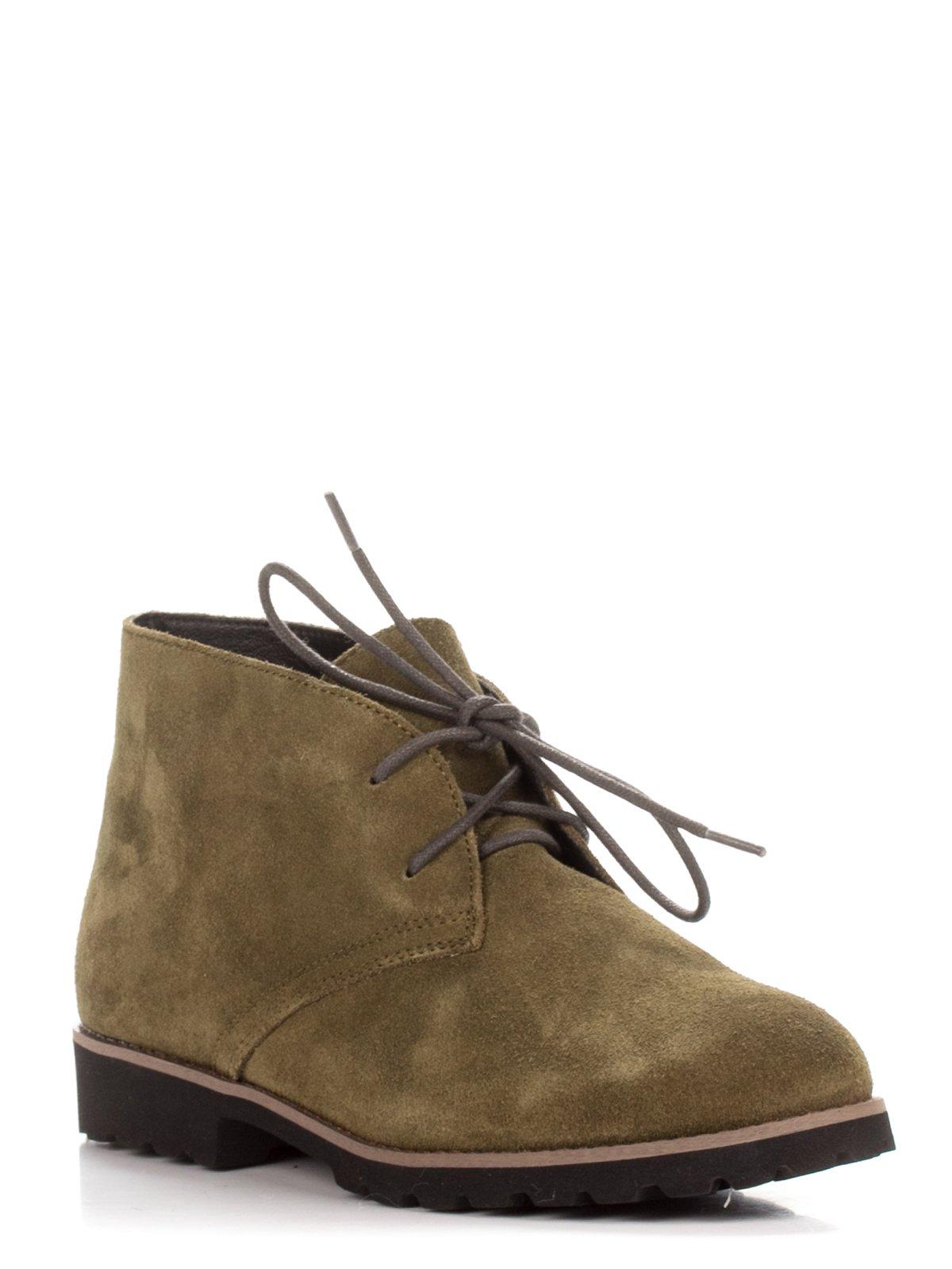 Ботинки цвета хаки | 3578855