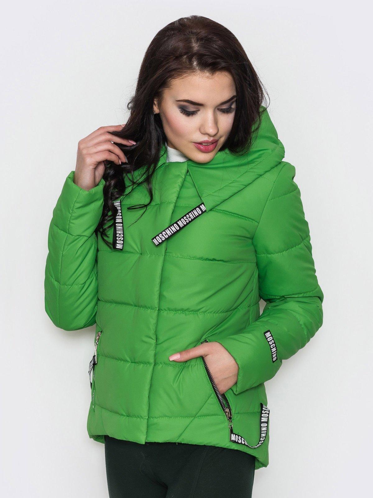 Куртка зеленая | 3532554 | фото 2