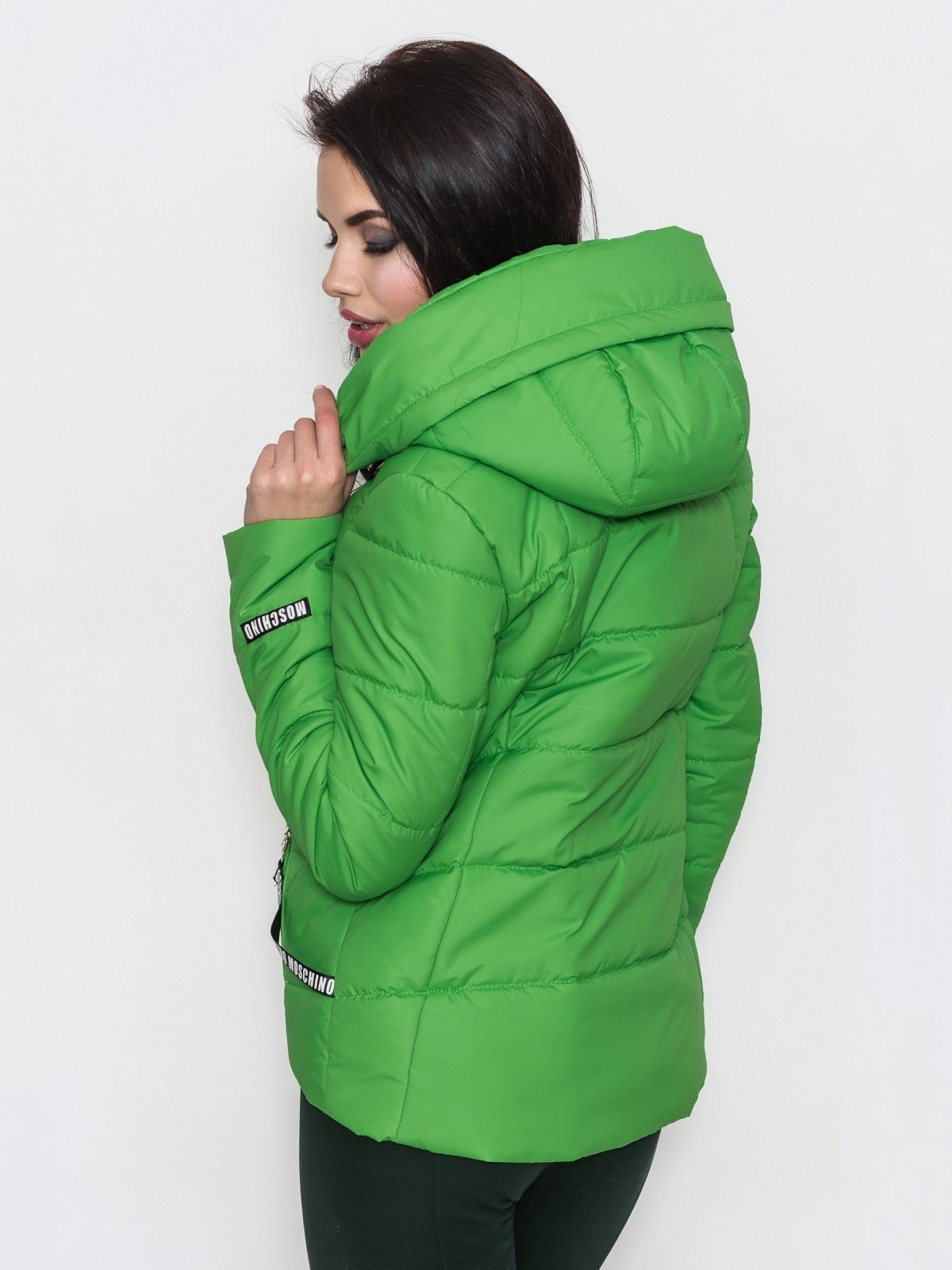 Куртка зеленая | 3532554 | фото 3