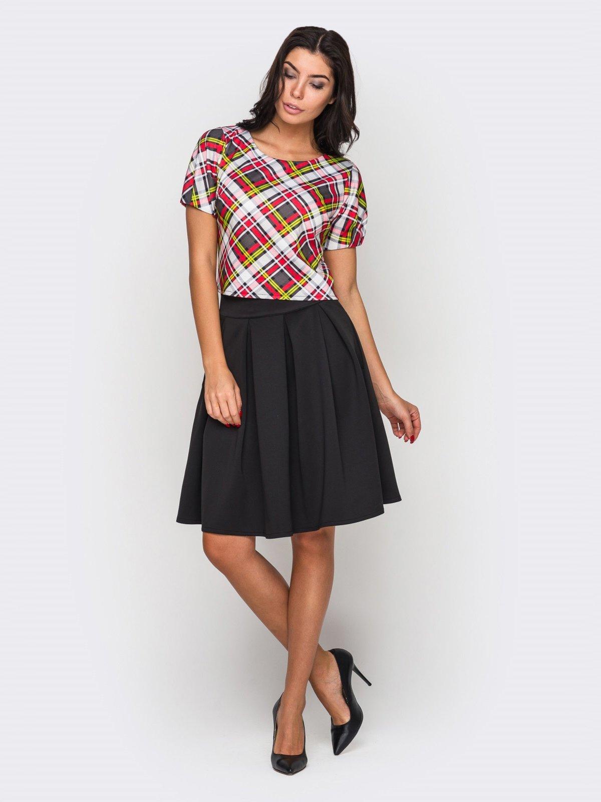 Комплект: блуза и юбка | 3547156