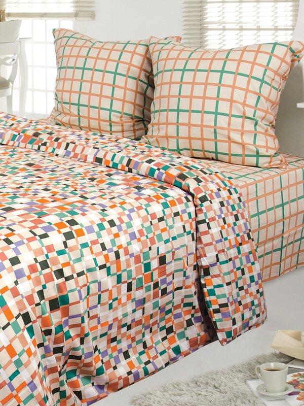 Комплект постельного белья семейный | 3584357