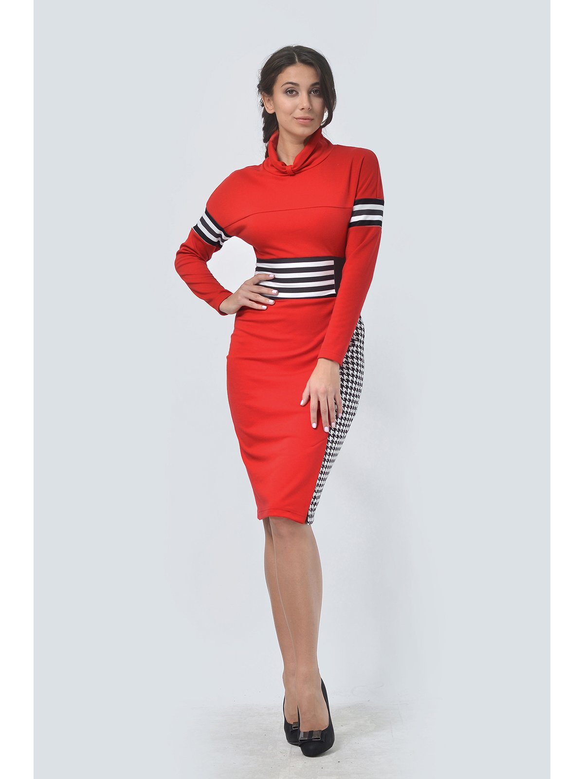 Платье красное | 3590462 | фото 2
