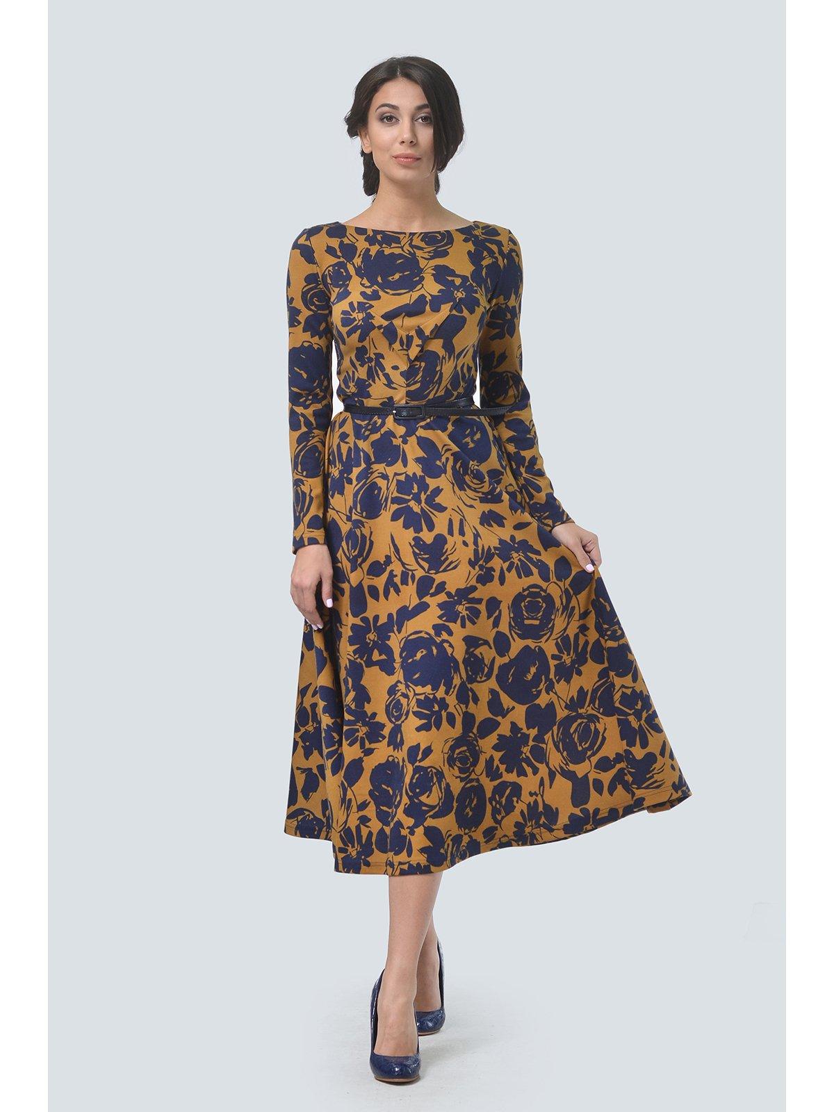 Платье в цветочный принт | 3590485 | фото 2