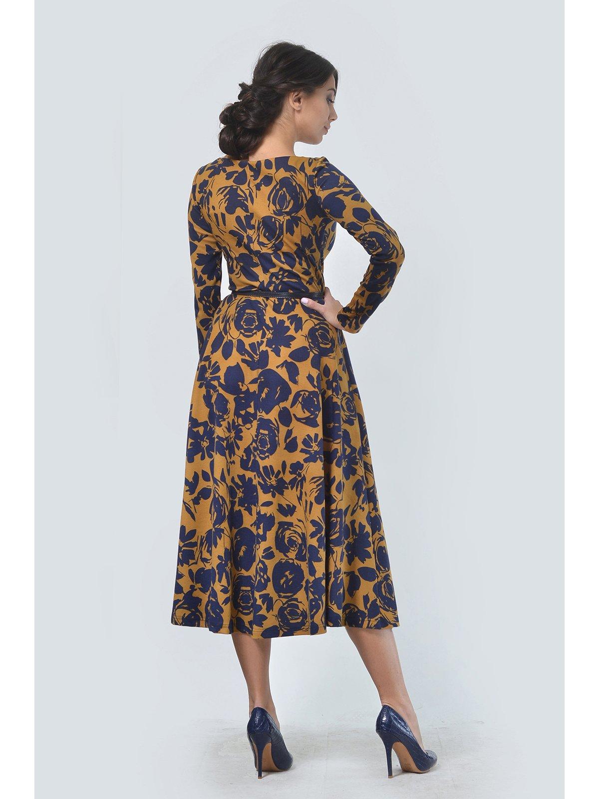 Платье в цветочный принт | 3590485 | фото 3