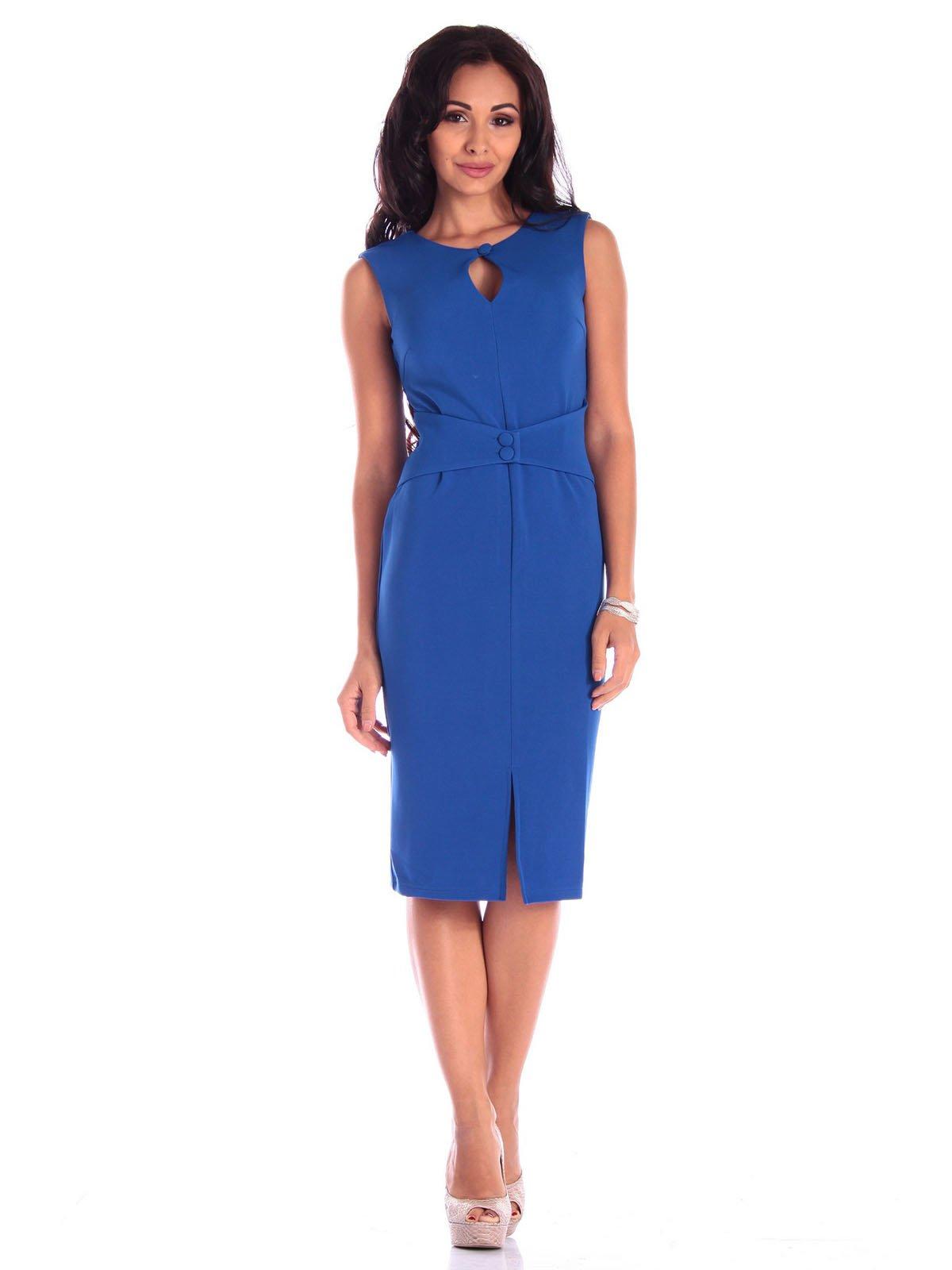 Платье цвета электрик | 3581081