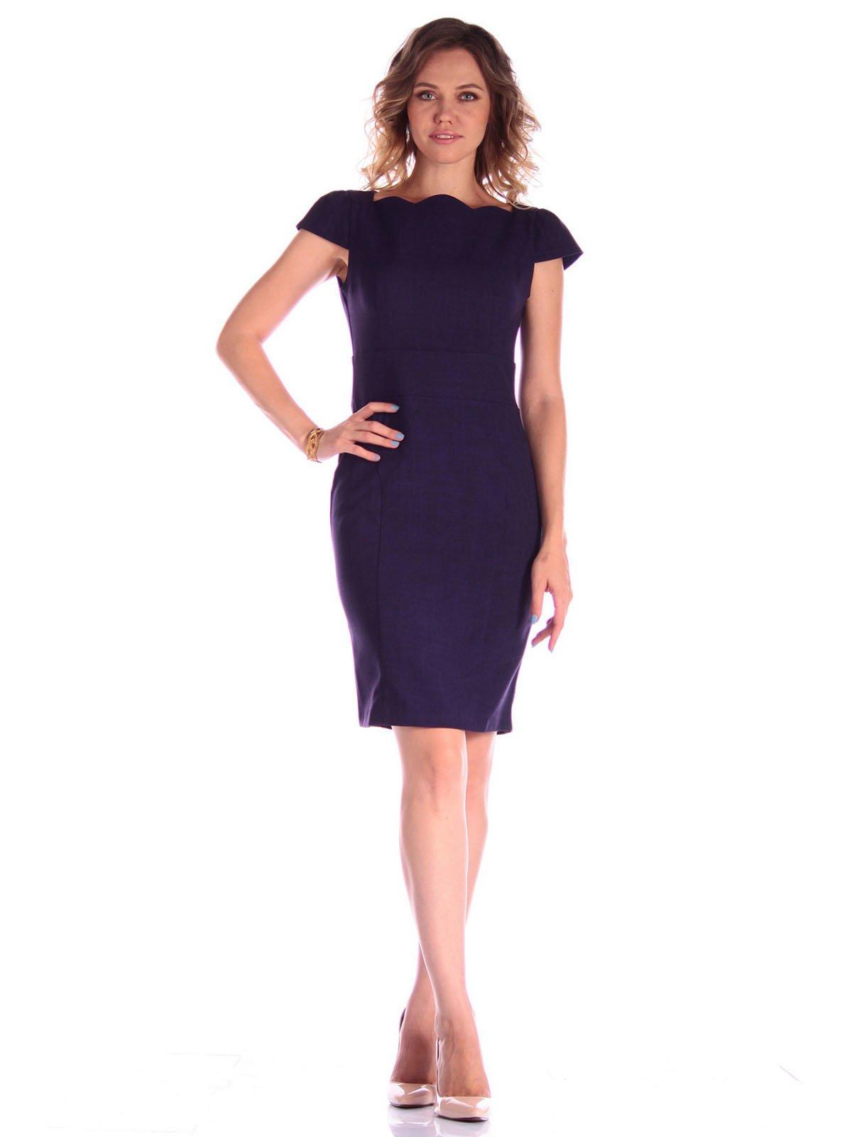 Платье темно-фиолетовое | 3581089