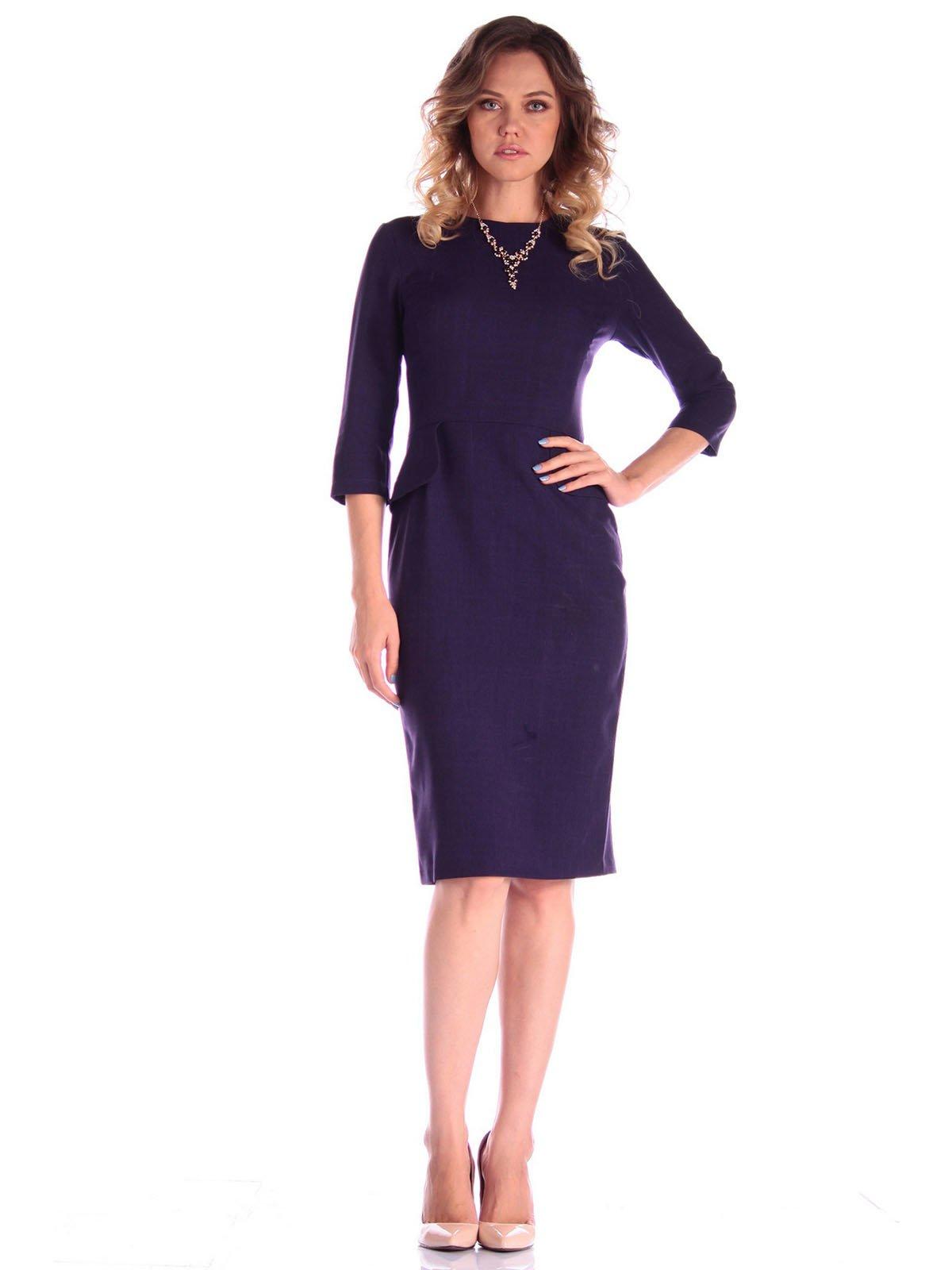 Сукня темно-фіолетового кольору | 3581106