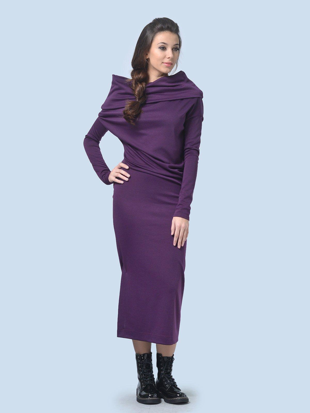 Платье фиолетовое | 3591718 | фото 2