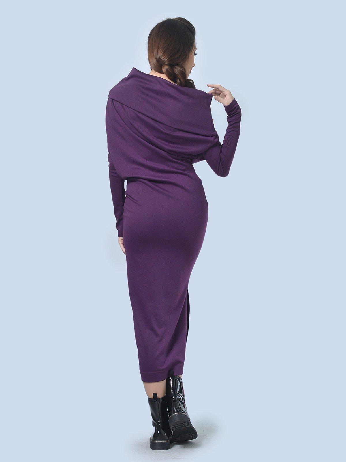 Платье фиолетовое | 3591718 | фото 3