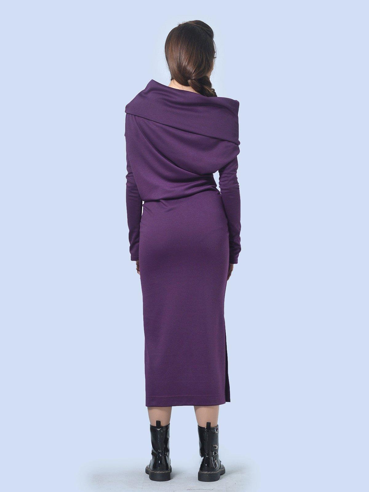 Платье фиолетовое | 3591718 | фото 4