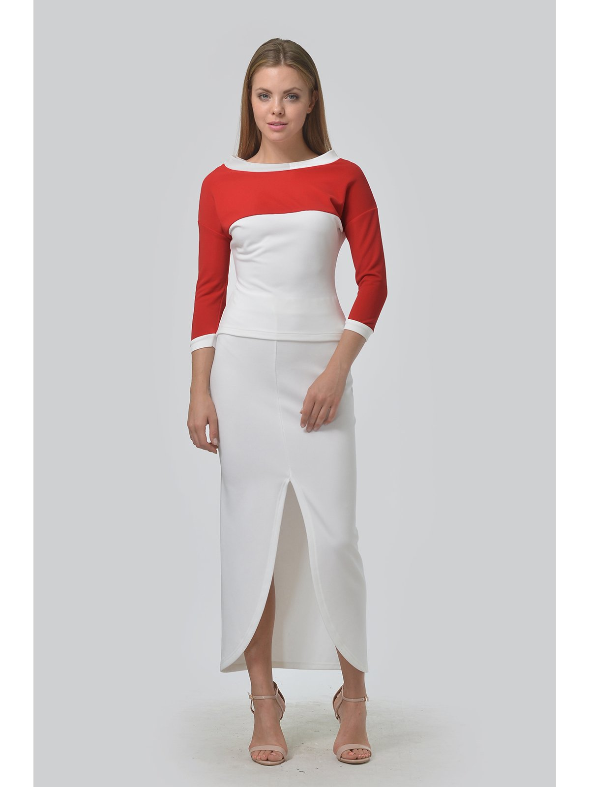 Комплект: джемпер и юбка | 3590468 | фото 2
