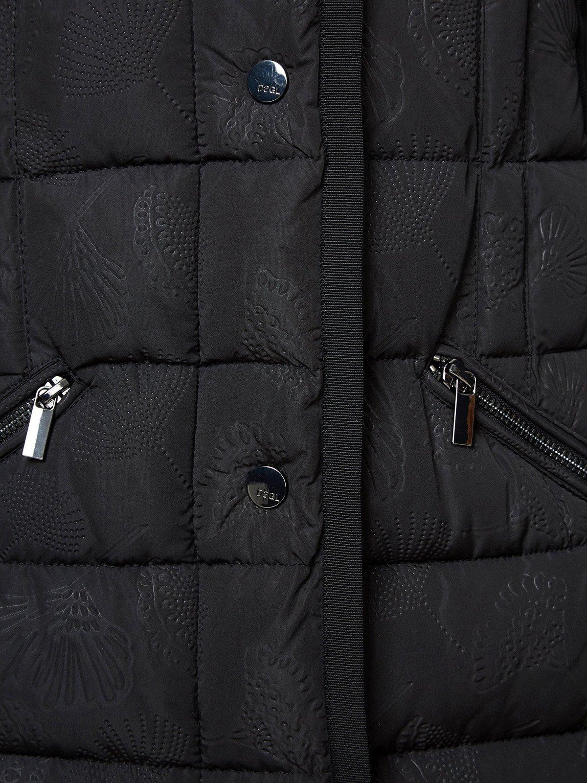 Куртка черная | 3555604 | фото 3