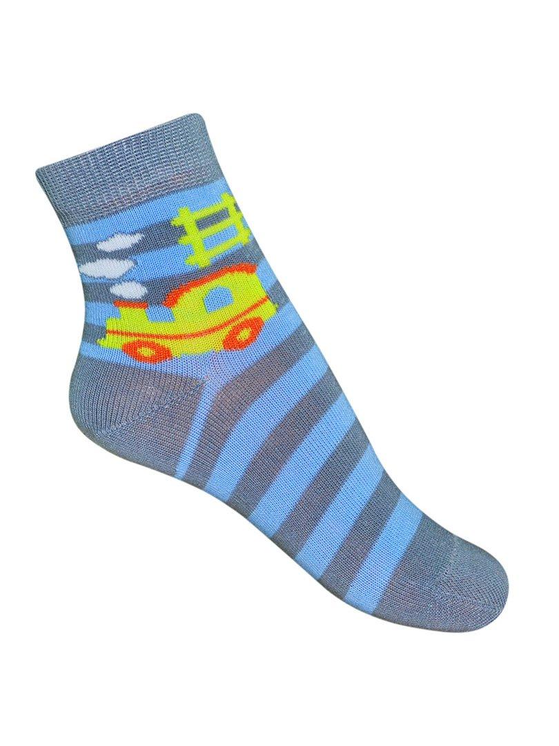Шкарпетки в смужку з малюнком | 3595325