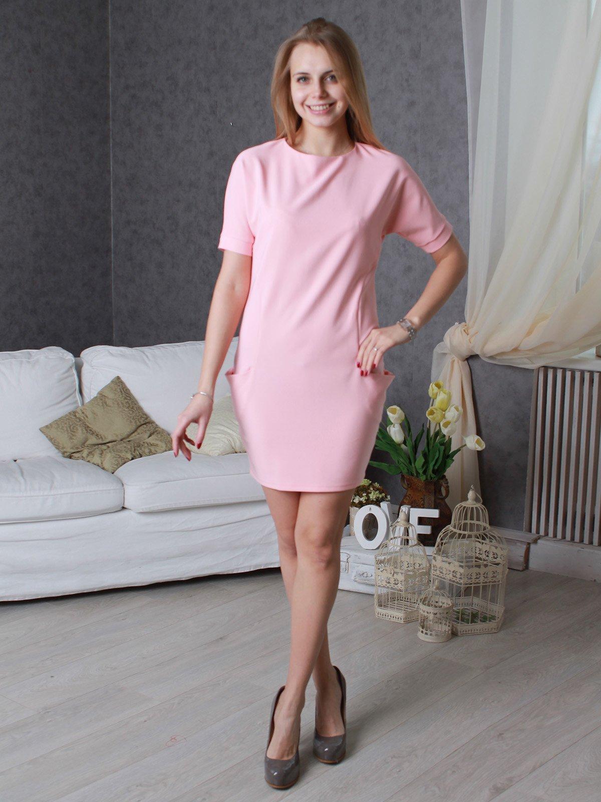 Платье розовое | 3596870