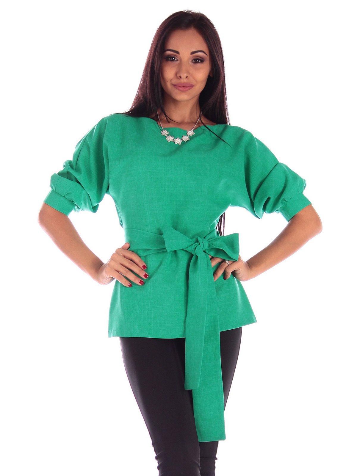 Блуза зеленая   3596249